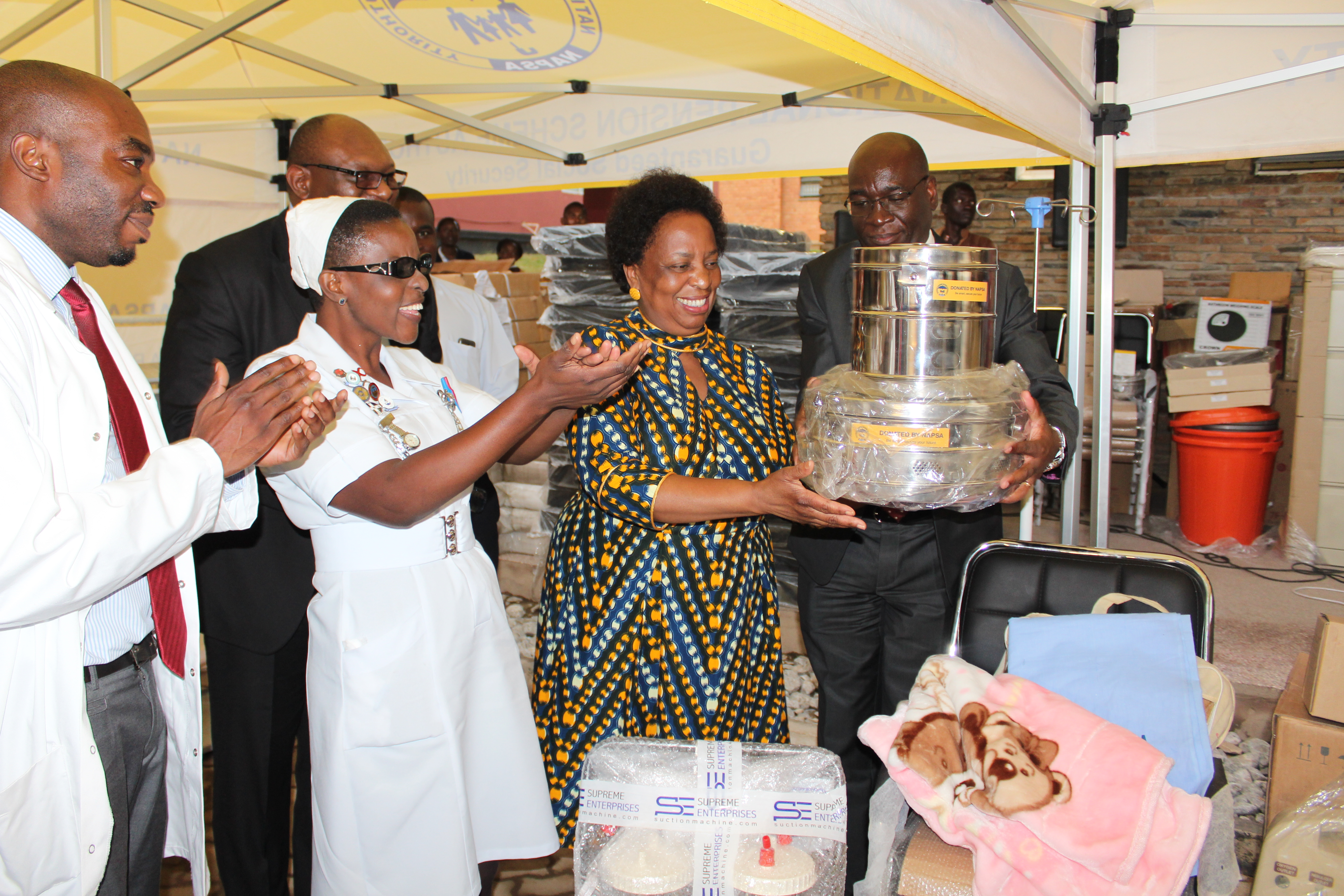 NAPSA donates towards maternal and child healthcare in Matero