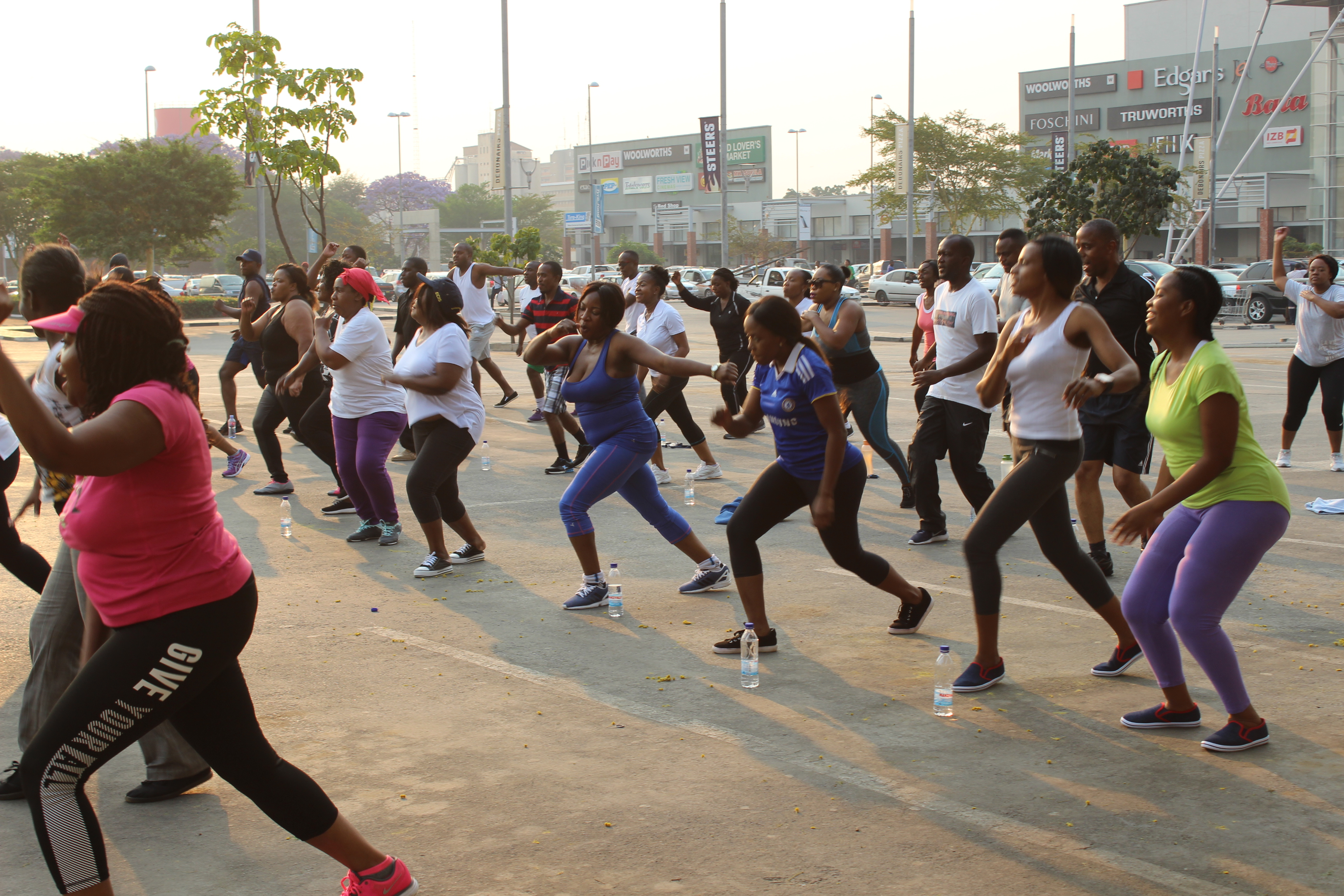 NAPSA enhances staff welfare program through aerobics