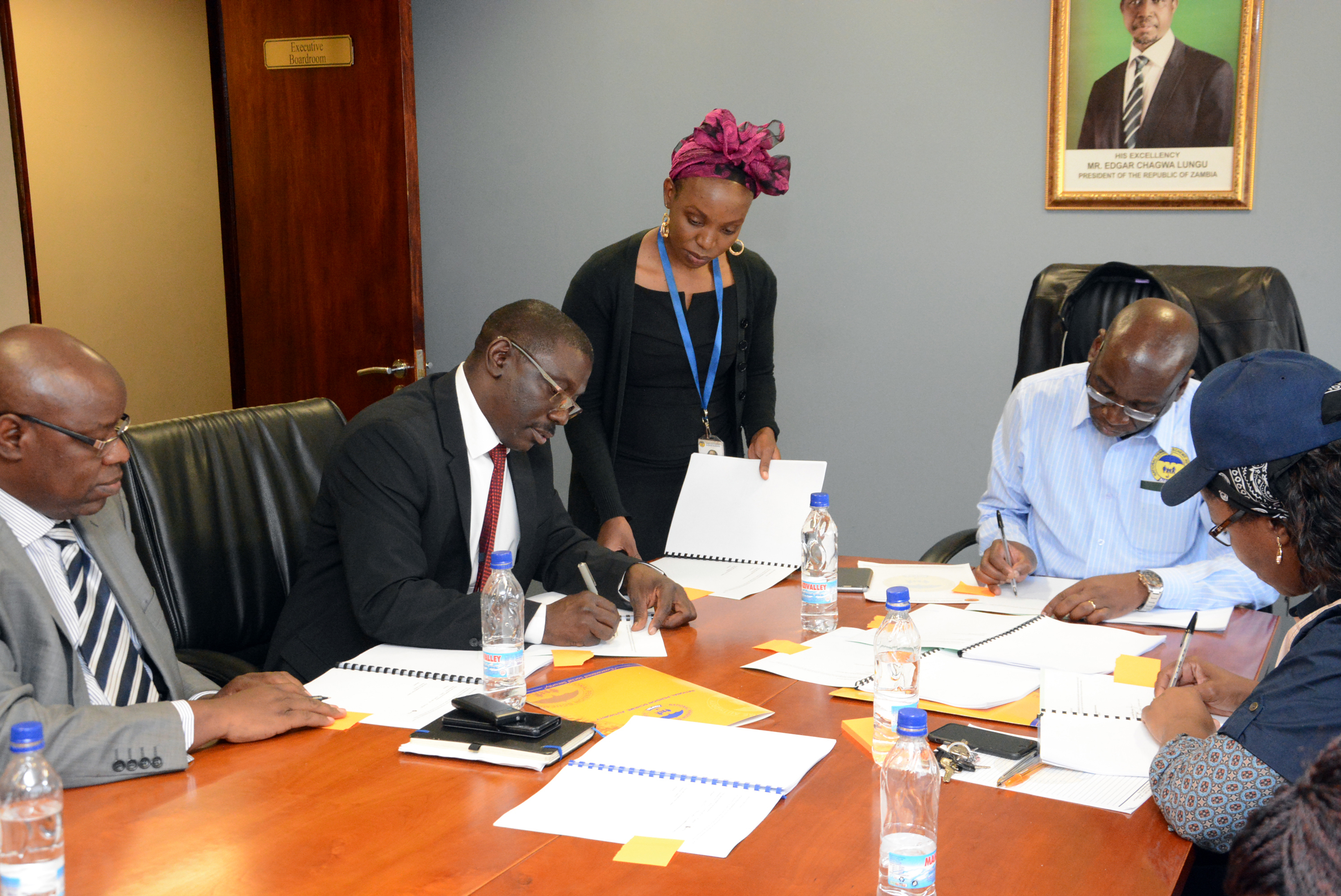 NAPSA Funds the NRFA for the rehabilitation of roads and construction of toll gates on Copperbelt/North Western routes.